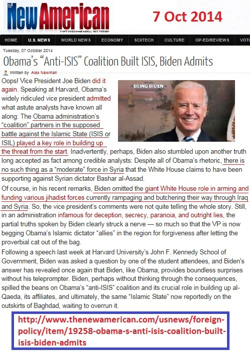 http://www.thenewamerican.com/usnews/foreign-policy/item/19258-obama-s-anti-isis-coalition-built-isis-biden-admits